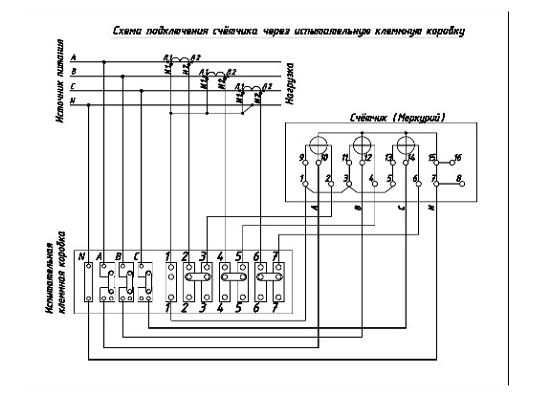 сайт - Схема подключения